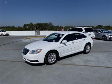 2012 Chrysler 200 4D Sedan - 42957B - Image 1