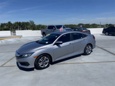 2017 Honda Civic 4D Sedan - 111922A - Image 1